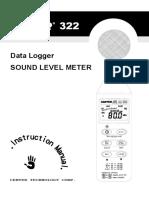 User Manual 322 Manual