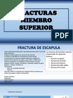 3 Fracturas Miembro Superior