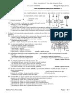 Ficha de Preparacao Para o Teste Intermedio 3-Biologia