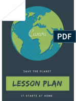 Save the Planet Lesson Plan