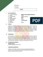 Ix Ciclo-diseño y Evaluacion de Proyectos