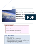 UD 2 the Atmosphere 1º ESO