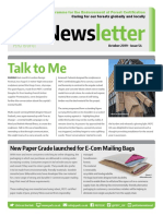 Just Published - PEFC UK Newsletter October