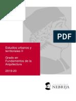 GUIA DOCENTE__Estudios Urbanos y Territoriales II_19-20.Pd