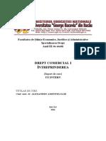 6. Drept Comercial II.intreprinderea.amititeloaie.2014