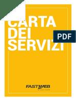 Fastweb - Carta Dei Servizi Offerta Fissa