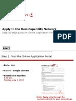 2019-20 BCN Application Process PEC