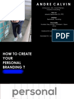 Personal Branding by Andre