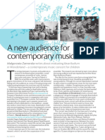 A New Audience for Contemporary Music