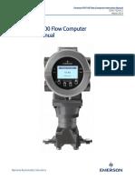 Emerson Fb1100 Flow Computer Instruction Manual en 586730
