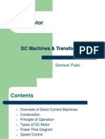 Overview of DC Machines