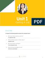 Basic 3 Workbook Unit 1