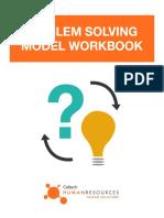 Problem Solving Model Workbook Fillable