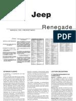 Jeep Renegade Manual de Usario 2017