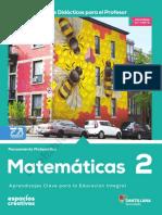 Matematicas 2 RD Espacios Conaliteg