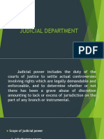 Report judicial