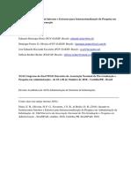 Diniz Oliveira Favaretto Brolio 2018 Internacionalizacao ADI EnANPAD2018
