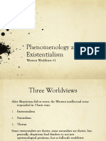 Phenomenology and Existentialism (2)