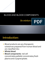 Blood and Blood Components