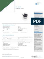 Carbon Trimmer Potentiometer