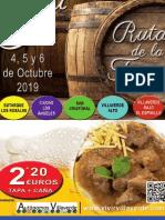 Catalogo Ruta Villaverde 2019
