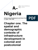 Infrastructure Development and Urban Facilities in Lagos, 1861-2000 - Chapter One. the Spatial and Demographic Contexts of Infrastructure Development in Colonial and Postcolonial Lagos - IfRA-Nigeria