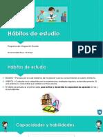 Hábitos e estudio