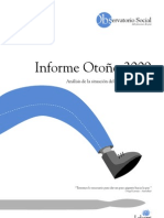 Informe Observatorio Social - Otoño 2009