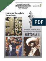 Cuadernillo de Trabajo de Historia II