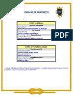Promoção de Almirantes 2019