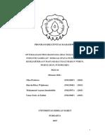 F0115067 001027 Optimalisasi Program Pada Desa