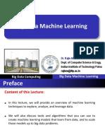 Big Data Machine Learning Part-I