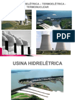 Usinas Hidrelétrica