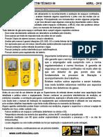 09 Detectores de Gás Abril 2018