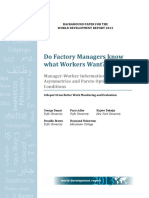 WDR2013 Bp Do Factory Managers Know What Workers