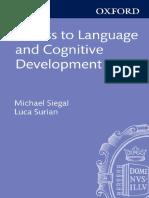 [Michael Siegal, Luca Surian] Access to Language a(B-ok.org)