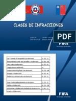 10.- Clases de Infracciones