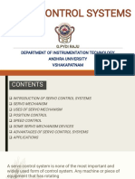 Servo Control Systems RAJU