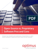 Open Source vs Proprietary Software Pros and Cons