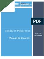 Manual de Usuario Generadores