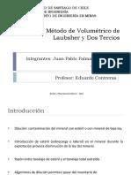 Dilución_Metodo volumetrico de laubsher y dos tercios_2010(2)