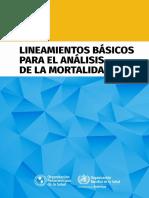Analisis Mortalidad OPS