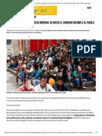Las Injusticias Con La Justicia Indígena_ de Nuevo El Gobierno Incumple Al Pueblo Nasa - Radiomacondo