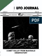 MUFON UFO Journal - April 1986