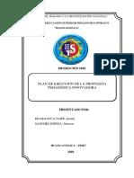 Plan de Ejecucion de La Propuesta Pedagogica Elena-ultimo Dactilopintura