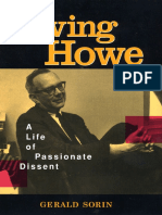 Irving Howe - A life of passionate dissent