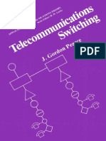 (Applications of Communications Theory) J. Gordon Pearce (Auth.) - Telecommunications Switching-Springer US (1981)