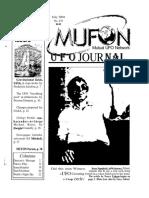 Mufon Ufo Journal - July 2004