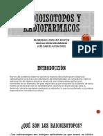 Radioisótopos y Radiofármacos.
