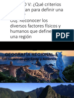 8º Regiones de América y Chile